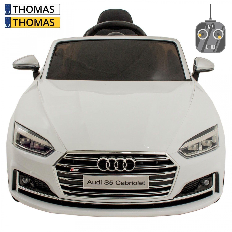 Afbeelding van Audi kinderauto RS5 wit