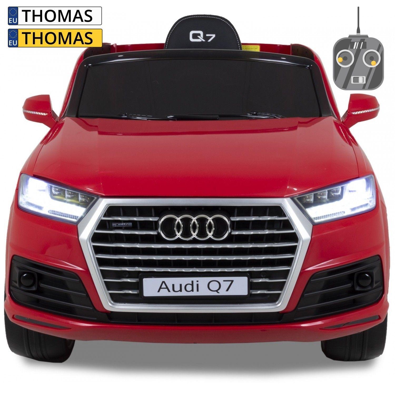 Afbeelding van Audi kinderauto Q7 rood