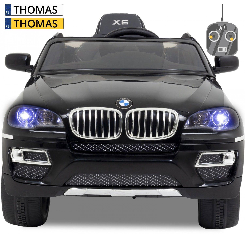 Afbeelding van BMW kinderauto X6 zwart