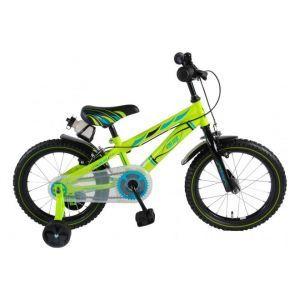 Volare Electric Green Kinderfiets Jongens 16 inch Groen 2 handremmen