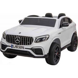 Mercedes elektrische kinderauto GLC63s 2-zits wit