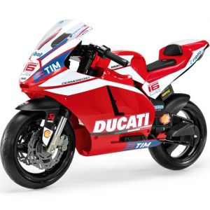Peg Perego elektrische kindermotor rood Ducati GP