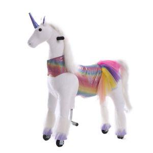 Kijana unicorn rijdend speelgoed Sunshine groot