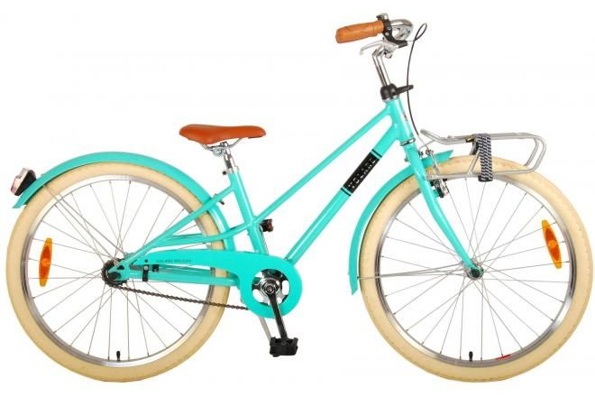 Volare Melody Kinderfiets Meisjes 24 inch Turquoise Prime Collection