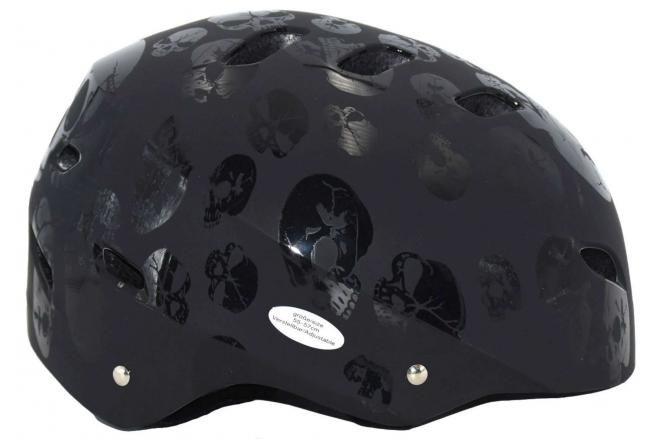 Volare Fiets/Skatehelm Skull 55-57 cm