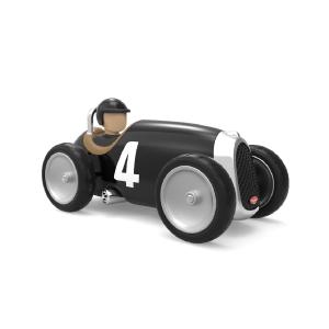 Baghera Retro speelgoedauto Racer zwart
