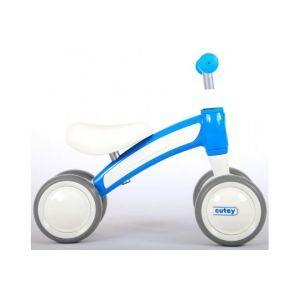 QPlay Cutey Ride On Balance Bike - Boys and Girls - blue