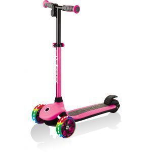 Globber elektrische step E-Motion 4 roze