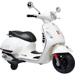 Vespa elektrische kinderscooter GTS wit