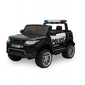 Kijana politie elektrische kinderauto Ford Ranger style zwart