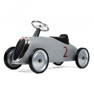 Baghera loopauto Rider retro zilver