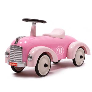 Baghera loopauto Speedster retro roze