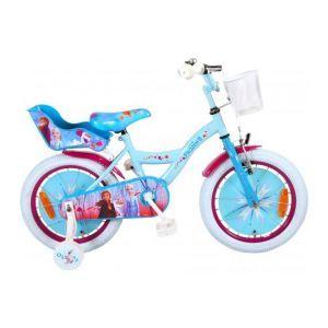 Volare Disney Frozen 2 Kinderfiets - Meisjes - 16 inch - Blauw/Paars