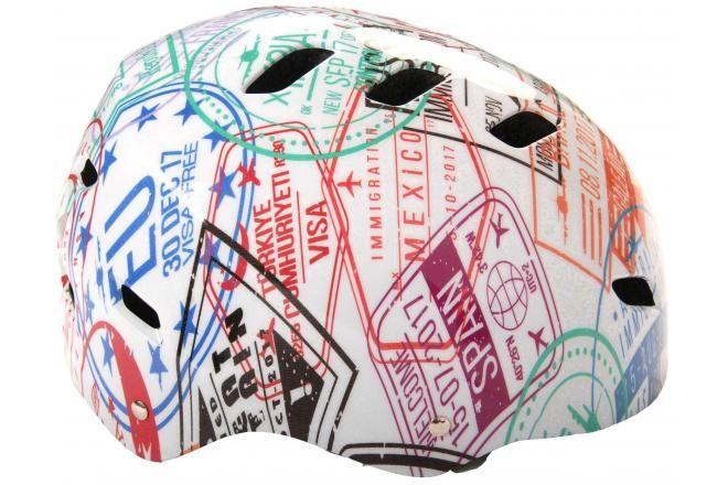 Volare Fiets/Skatehelm Travel the World 55-57 cm
