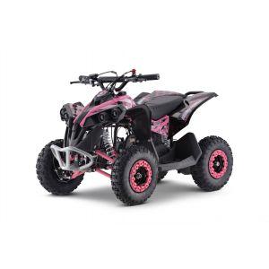 Outlaw quad op benzine 110cc roze