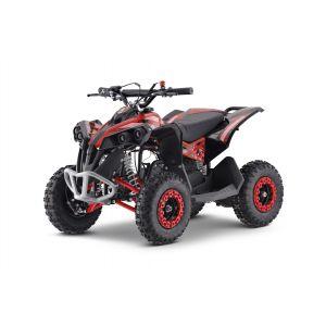 Outlaw quad op benzine 110cc rood