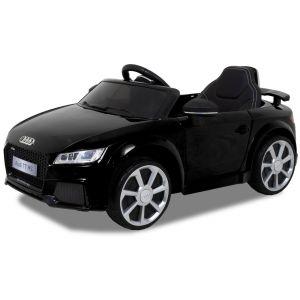 Audi elektrische kinderauto TT RS zwart