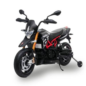 Aprilia elektrische kindermotor Dorsoduro 900 zwart