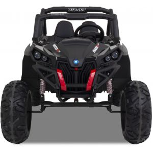 UTV-MX kinder buggy zwart voorkant