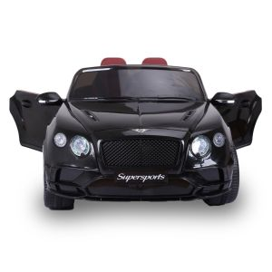 Bentley elektrische kinderauto Continental Supersports zwart