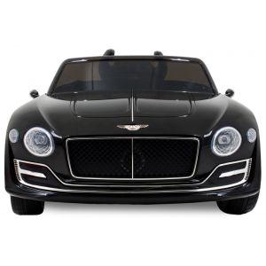 Bentley Continental kinderauto zwart voorkant logo grill koplampen