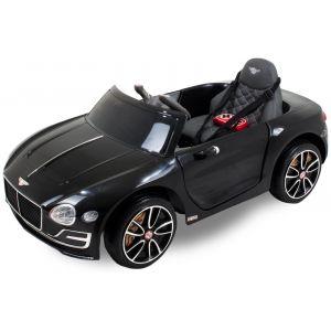 Bentley elektrische kinderauto Continental zwart