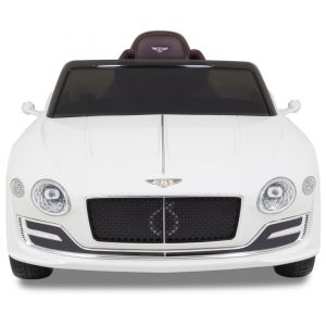 Bentley Continental kinderauto wit koplampen zijspiegels