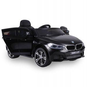 BMW elektrische kinderauto 6-serie GT zwart