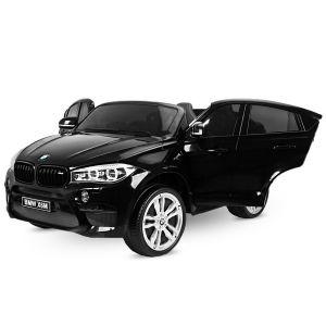 BMW elektrische kinderauto X6M zwart 2-zits