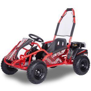 Kijana Outlaw buggy 98cc 4-takt motor rood