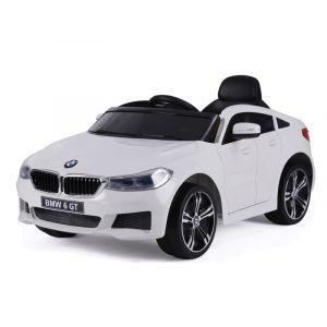 BMW elektrische kinderauto 6-serie GT wit