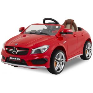 Mercedes elektrische kinderauto CLA45 AMG rood