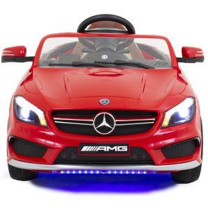 Mercedes CLA45 AMG kinderauto rood vooraanzicht grill