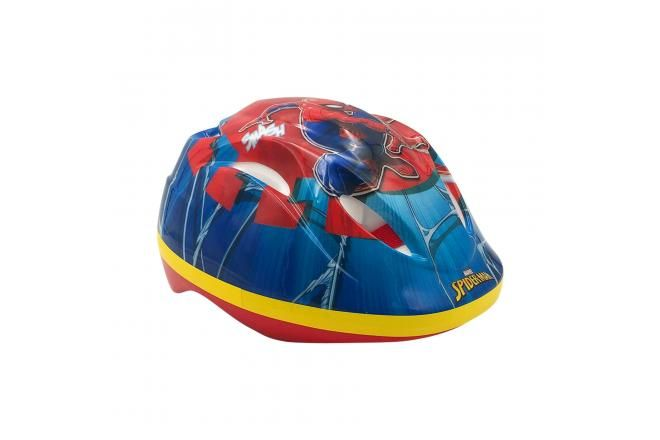 Marvel Spiderman Fietshelm - Blauw Rood - 51 - 55 cm