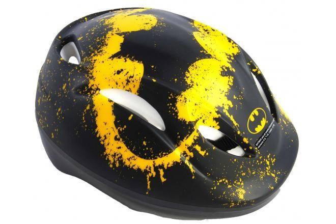 Batman jongens fietshelm - Zwart - 51-55 cm
