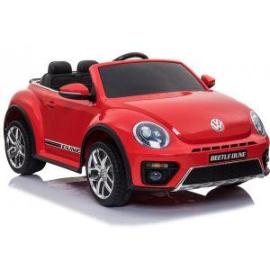 VW elektrische kinderauto Dune Beetle rood