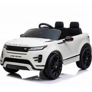 Range Rover elektrische kinderauto Evoque wit