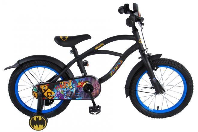 Batman Kinderfiets - Jongens - 16 inch - Zwart