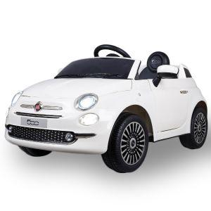 Fiat elektrische kinderauto 500 wit