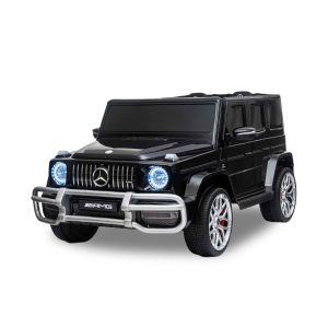 Mercedes elektrische kinderauto G63 2 zits zwart