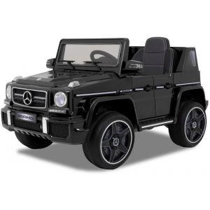Mercedes elektrische kinderauto AMG G63 cabrio zwart