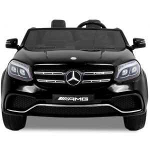 Meredes GLS AMG kinderauto zwart vooraanzicht prijstechnisch autovoorkinderen autosvoorkinderen