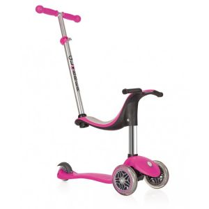 Globber kinderstep Go Up 4 in 1 Sporty roze