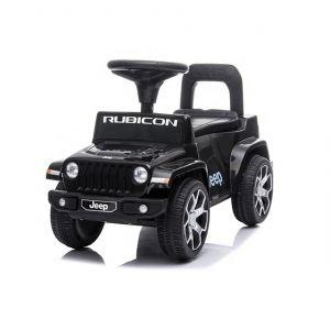 Jeep Wrangler loopauto zwart