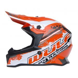 Wulfsport kinderhelm Junior Cub Off Road Pro - rood