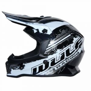 Wulfsport kinderhelm Junior Cub Off Road Pro - zwart