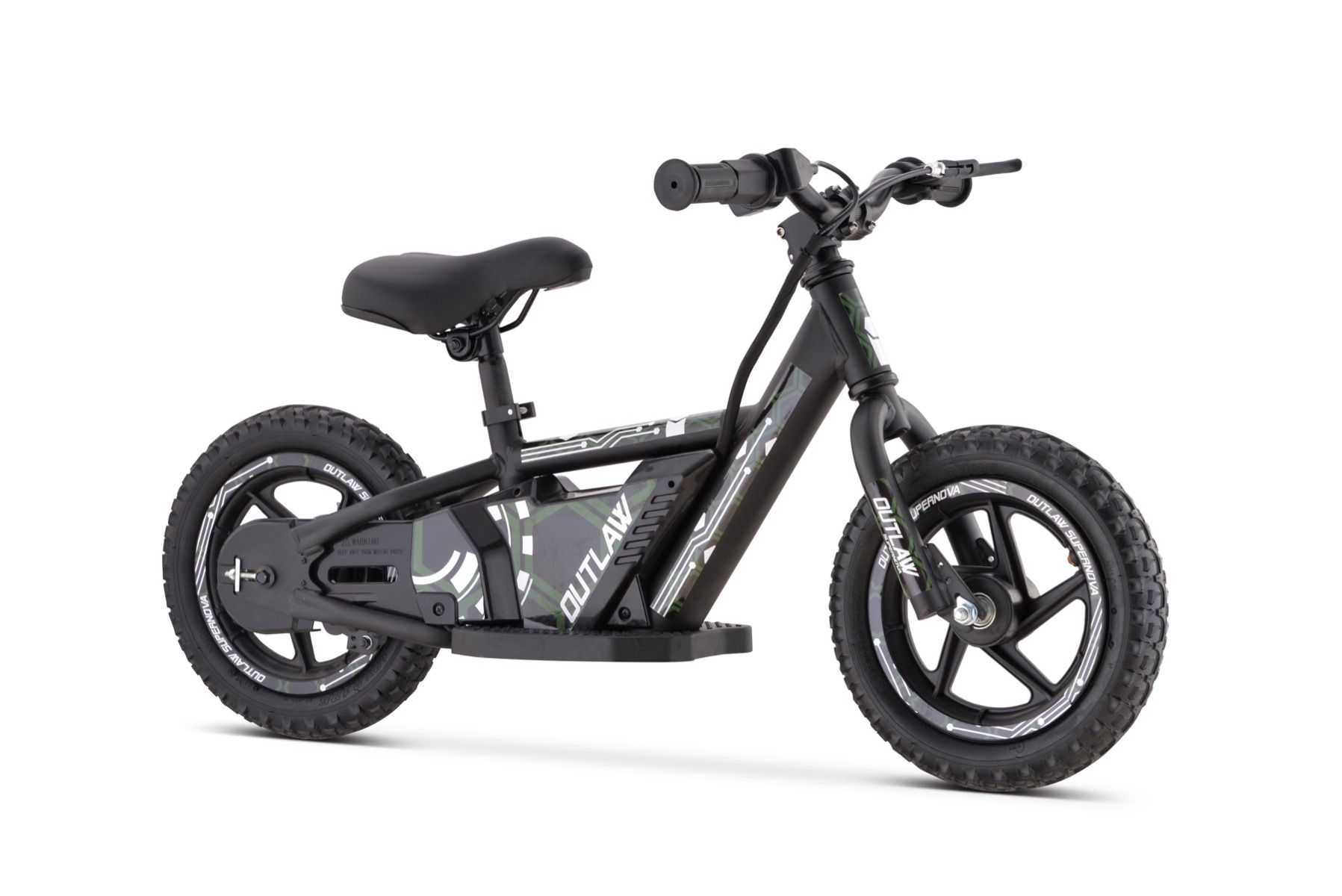 "Outlaw elektrische loopfiets 24V lithium met 16"" wielen - groen"