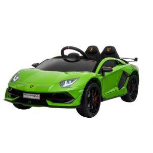 Lamborghini elektrische kinderauto groen