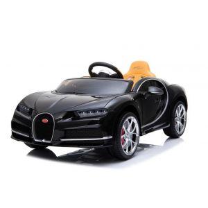 Bugatti elektrische kinderauto Chiron zwart