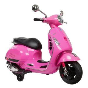 Vespa GTS kinderscooter roze prijstechnisch autovoorkinderen autosvoorkinderen